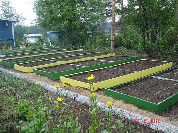 Огород для дачи своими руками фото